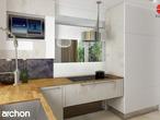 projekt Dom w groszku Wizualizacja kuchni 2 widok 1