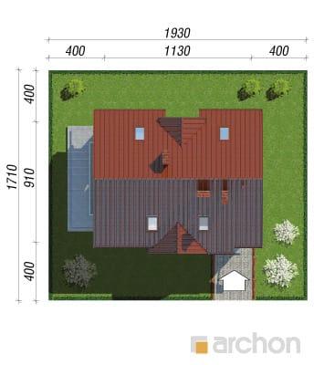 projekt Dom w groszku sytuacja