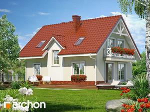 projekt Dom w groszku widok 2
