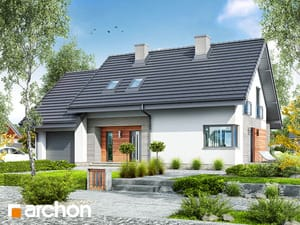 projekt Dom w malinówkach 3