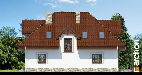 Elewacja ogrodowa projekt dom w majeranku ver 2  267
