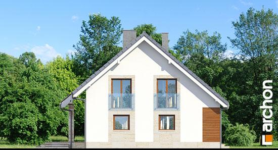 Elewacja boczna projekt dom w idaredach ver 2  266