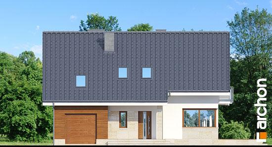 Elewacja frontowa projekt dom w idaredach ver 2  264