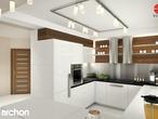 projekt Dom w idaredach Aranżacja kuchni 1 widok 1