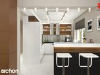 projekt Dom w idaredach Aranżacja kuchni 1 widok 2