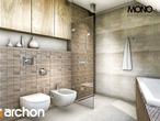 projekt Dom w idaredach Wizualizacja łazienki (wizualizacja 1 widok 3)