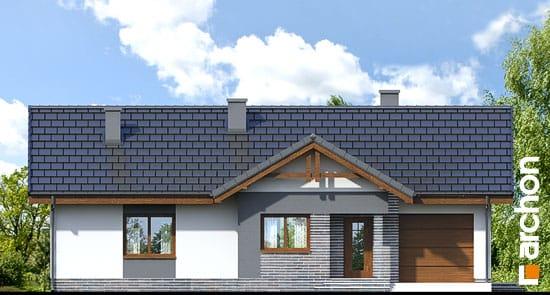 Elewacja frontowa projekt dom w nerinach ver 2  264