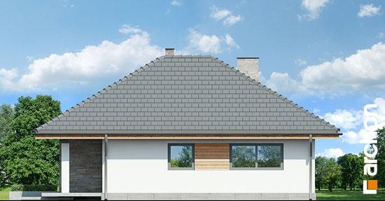 Elewacja boczna projekt dom w lilakach ver 2  265