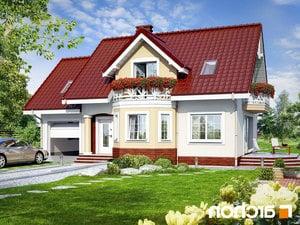 Projekt dom w ananasach ver 2  252lo