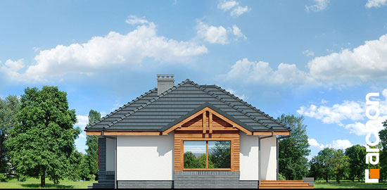 Elewacja boczna projekt dom we wrzosach ver 2  265