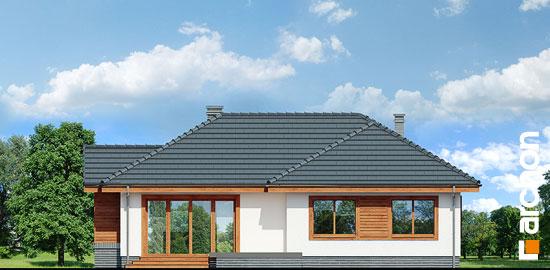 Elewacja ogrodowa projekt dom we wrzosach ver 2  267