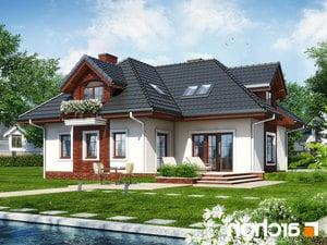 Projekt dom w chabrach  252lo