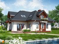 Projekt dom w chabrach  259