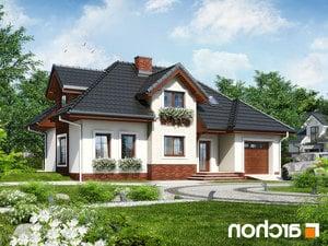 Projekt dom w chabrach  260lo
