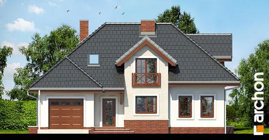 Projekt dom w chabrach  264