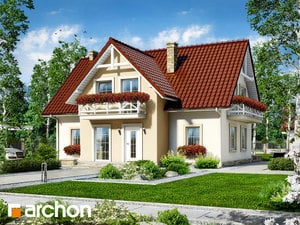Dom w fiołkach
