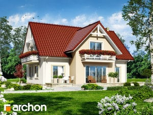 Projekt dom w fiolkach  260