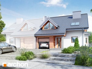 projekt Dom w klematisach 4