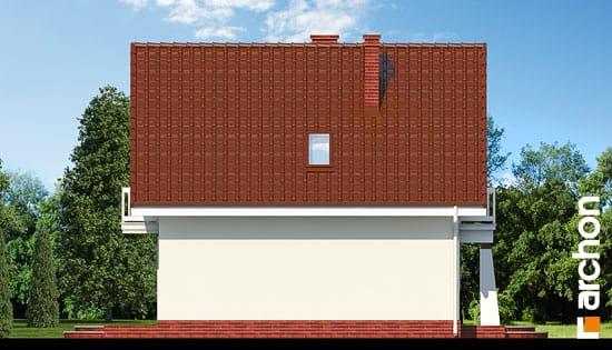 Elewacja boczna projekt dom w winogronach ver 2  266