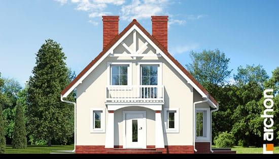 Elewacja frontowa projekt dom w winogronach ver 2  264