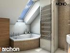 projekt Dom w perłówce Wizualizacja łazienki (wizualizacja 1 widok 2)