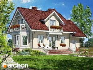 projekt Dom w perłówce widok 2