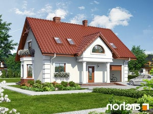 Projekt dom w winorosli 3  252lo