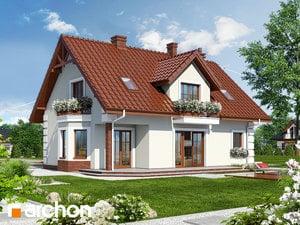 Projekt dom w winorosli 3  260