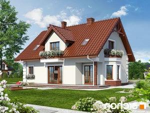 Projekt dom w winorosli 3  260lo