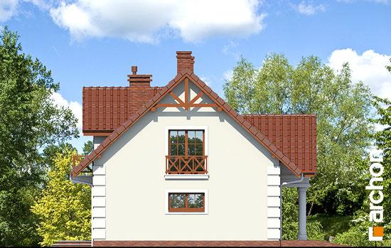 Projekt dom w winorosli 3  266