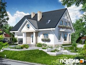 Projekt dom w szafirkach  252lo
