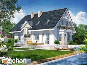 Projekt dom w szafirkach  260