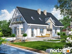 Projekt dom w szafirkach  260lo