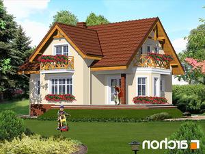 Projekt dom w szafranie  260lo