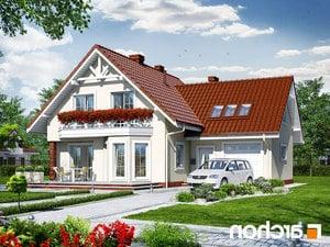 projekt Dom na polanie 2 lustrzane odbicie 1