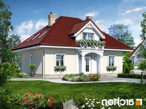 projekt Dom w szkarłatkach lustrzane odbicie 1