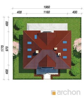 projekt Dom w szkarłatkach sytuacja