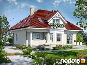 projekt Dom w szkarłatkach lustrzane odbicie 2