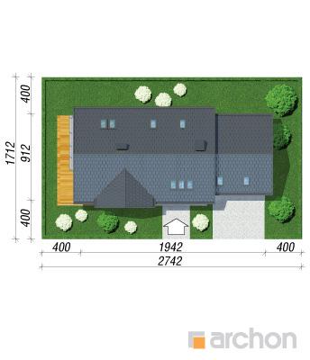 projekt Dom w daktylowcach (G2) sytuacja