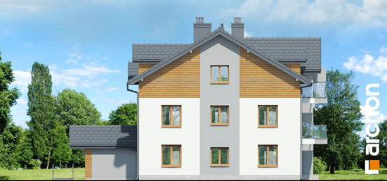 Projekt dom nad bulwarem 3  265