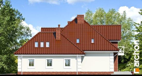 Elewacja boczna projekt dom w nagietkach 2  266