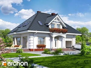 Dom w aksamitkach (M)
