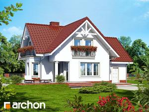 Projekt dom w kosowce  260