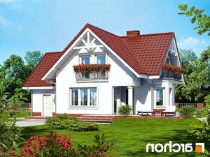 Projekt dom w kosowce  260lo