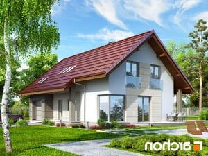 Projekt dom w wisteriach 2 ver 2  252lo