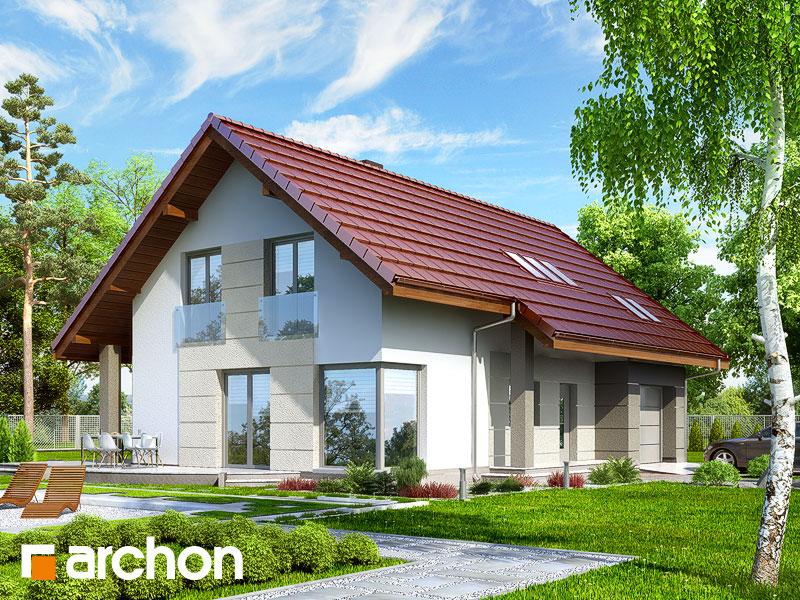 Projekt: Dom w wisteriach 2 ver.2 Wizualizacja widok 1