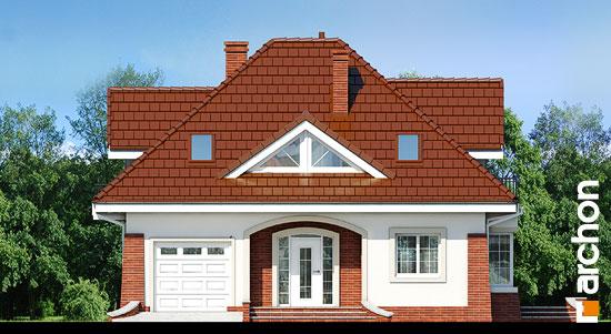 Elewacja frontowa projekt dom w koniczynce 3  264