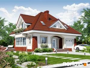 projekt Dom w koniczynce 3 lustrzane odbicie 1