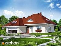 projekt Dom w arbuzach widok 1