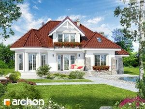 Dom w hibiskusie